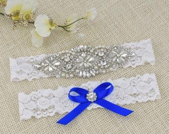Crystal Bridal Garter Set Wedding Garter Bridal Garter Wedding Garter Set Rhinestone Crystal Bridal Garter Rhinestone Garters