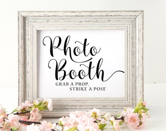 Photo booth Sign | Wedding Photobooth sign | Wedding Printable Signs | Wedding signage | Wedding decor | Instant Download