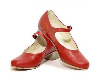 Woman Russian Dance Shoes
