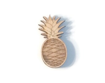 Laser Cut Pineapple Etsy