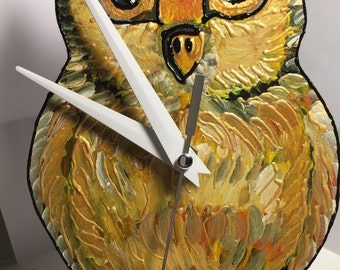 Handmade OWL watch