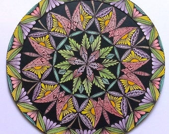 Mandala, butterflies come and go / Mandala, Butterflies come and go