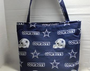 Dallas Cowboys Diaper Bag/Tote, Dallas Cowboys tote bag, Cowboys diaper bag, Cowboys tote, Dallas Cowboys Baby Bag, Dallas Cowboys Book Bag