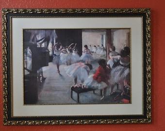 Ballet Rehearsal by DeGas