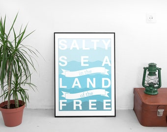 Salty Sea in the Land of the Free