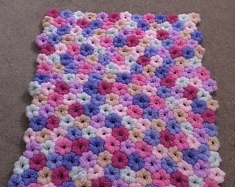 Crochet Flower Baby Blanket