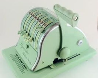 Vintage Paymaster Cheque Writer - Series 8000