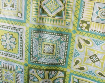 CLEARANCE SALE 50% OFF Jenean Morrison Beechwood Park Cotton Fabric Lime Green Craft Quilt Clothing
