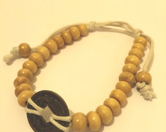 Buddha Beaded with Asian Coin Bracelets