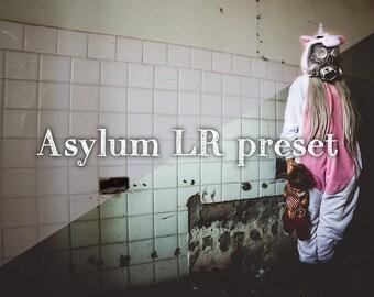 Asylum Lightroom preset