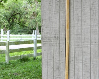 """72"""", 57#@28"""" – Competition or Hunting D Bow - Bamboo Backed Hickory English Longbow- Archery"""