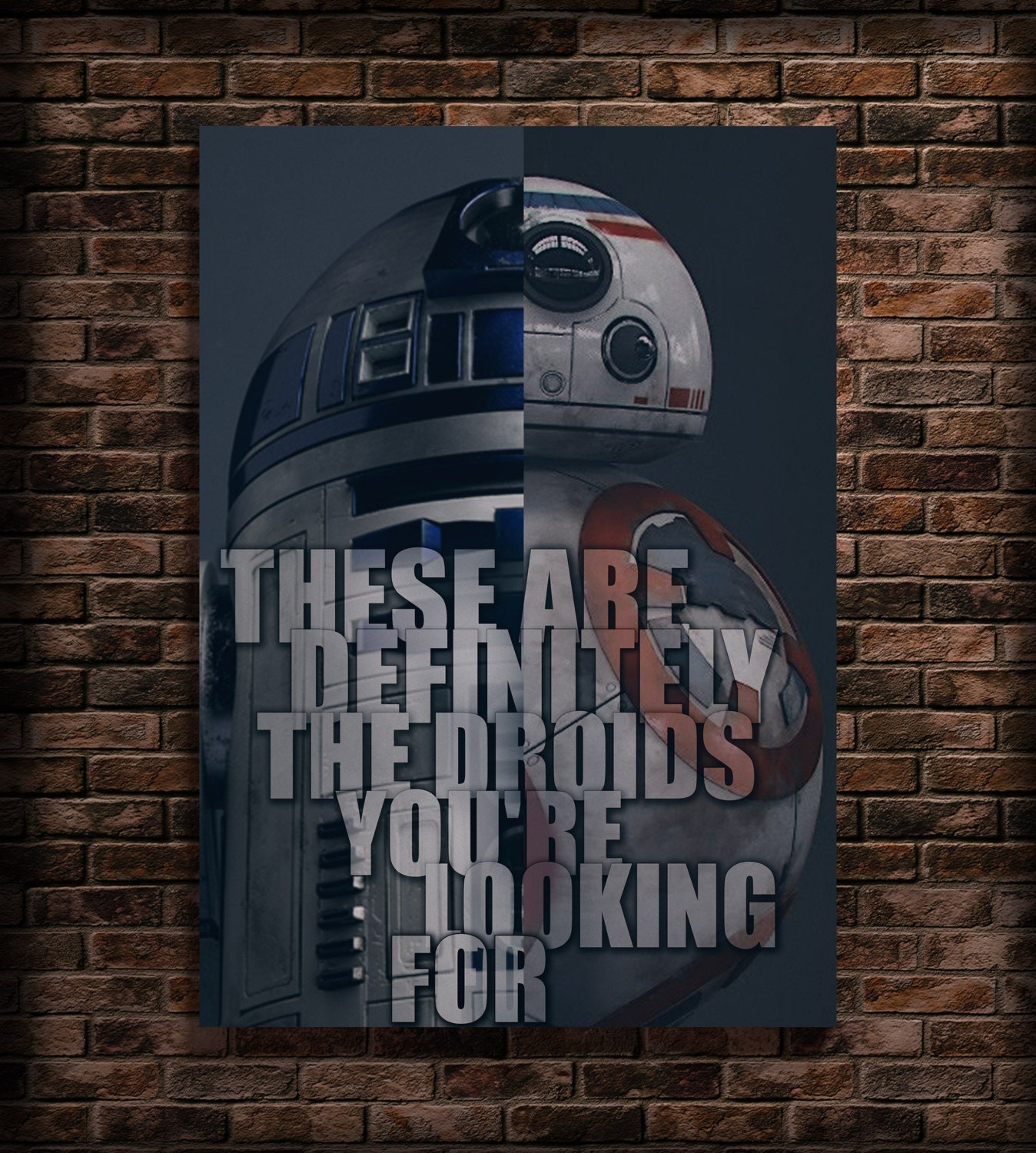 Star Wars Birthday Party R2D2 Print Quote Famous People