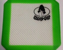 2 Non-stick Silicone DAB Mats Heat Resistant Extract Mat 4 inch