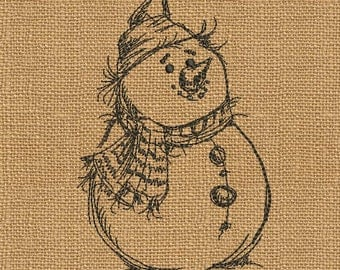 Snowman - MACHINE EMBROIDERY DESIGN