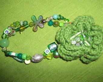 Funky GREEN bracelet