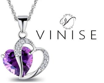 Vinise Love Heart Necklace