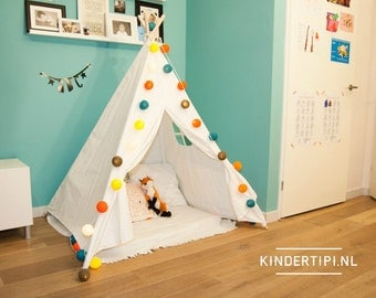 Kids teepee play tent