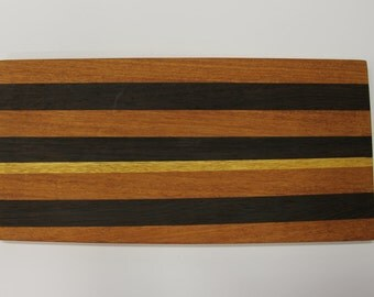 Handcrafted solid wood cutting board 42 x 20 x 1.5 cm