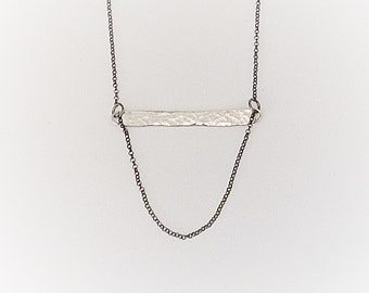Sterling Silver 925 Necklace / Geometrical Necklace / Gift for Her