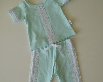 summer Pajamas mint