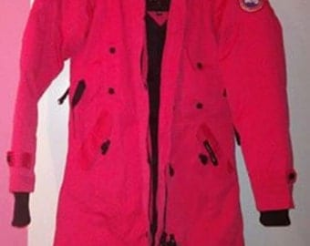 canada goose winterjacket red/pink
