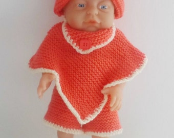 Beautiful Hand Knitted Dolls Set (to fit 12 to 22 inch dolls).