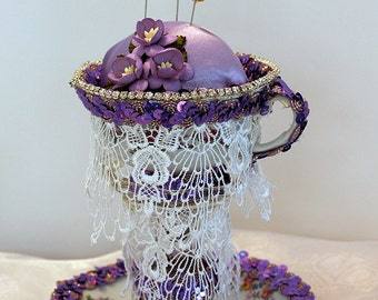 Floating Cup Pin Cushion