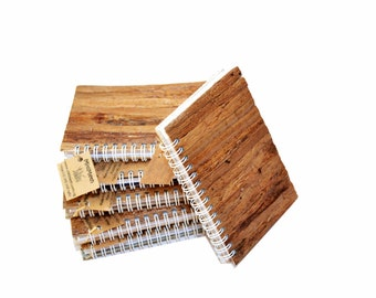 "Natural Fiber Notepad - 8"" x 5.5"""