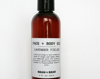 Lavender Fields Oil Facial Cleansers