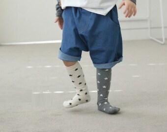 Star knee socks