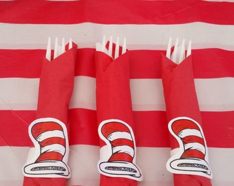 Dr. Suess Napkin Rings