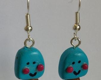 Smiling Ice Cream Earrings