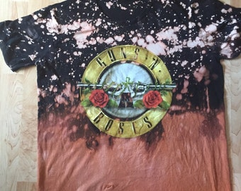 "Vintage Hall of Fame "" Guns & Roses"" tee"
