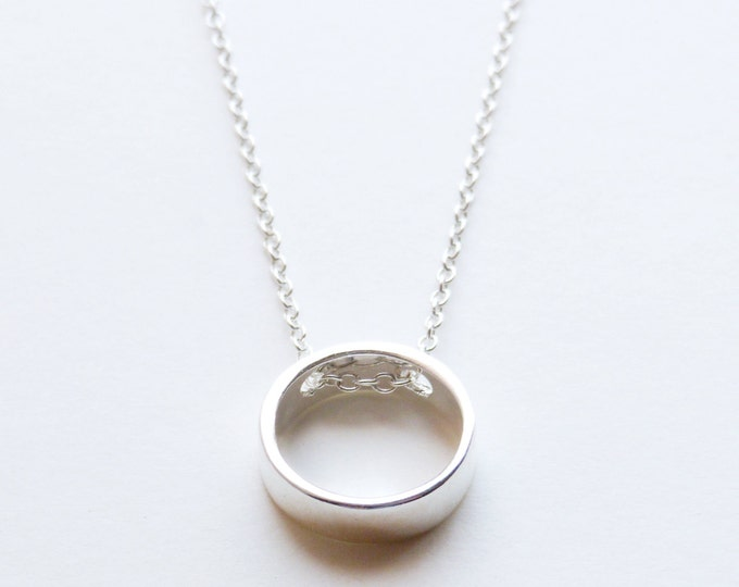 Sister In Law | Sister-In-Law Wedding Gift As I Join Your Family Circle Sterling Silver Karma Ring Necklace Poem Message Card Groom Husband