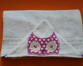 towel embroidery baby