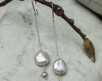 Freshwater earrings