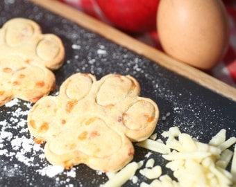 Cheese & apple dog treats
