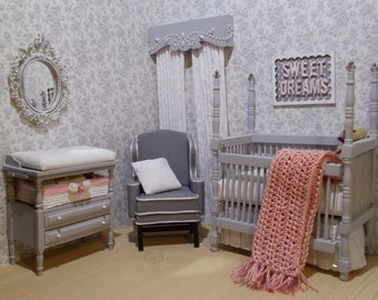 Miniature Nursery Set