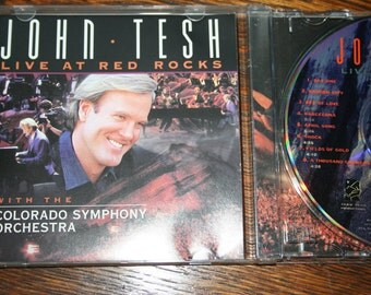 John Tesh Live at Red Rocks with the Colorado Symphony Orchestra - 1995 - CD