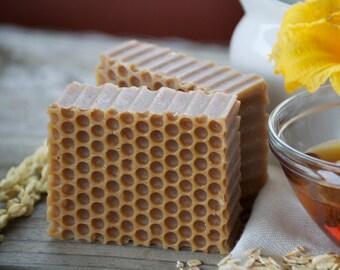 Honey Soap - Handmade Soap - Natural Soap - Exfoliating Soap - Bar Soap