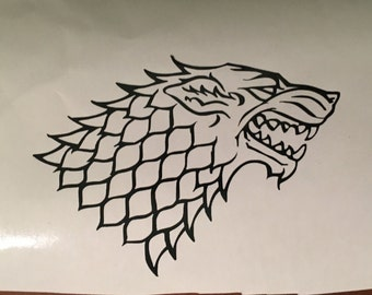 Game of Thrones House Stark Vinyl Decal