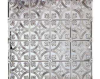 Ceiling Tiles Tin Fleurdelis Circle 2 X 2 | Renovators Supply