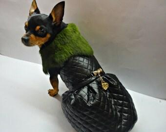 Dog Clothing - dog winter coat - dog jacket - Dog clothes - small pet clothes