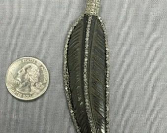 Bone Diamond Feather