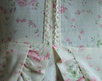Handmade Vintage Floral Summer Dress, 1960's, S/M
