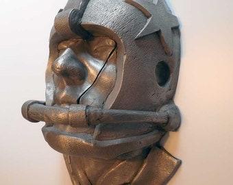 Dallas Cowboys Football Helmet Aluminum Sculpture