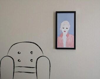 Pink Lady print