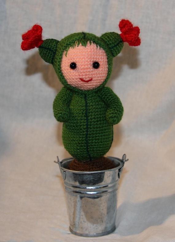 Etsy Amigurumi Cactus : Items similar to Crochet Cactus, Amigurumi, Cactus Plant ...