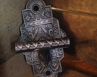 Antique Decorative Iron Bell Lever