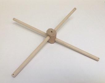 Wooden mobile frame, Wooden mobile hanger